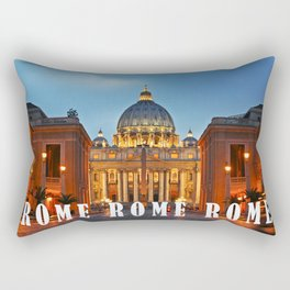 SAINT PETER'S CATHEDRAL in ROME Rectangular Pillow