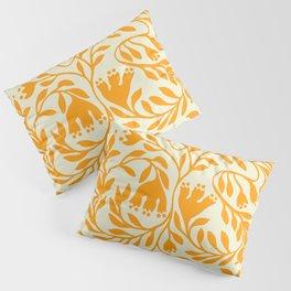 Impression indienne yellow sun. Pillow Sham