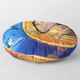The Astronomer Floor Pillow
