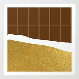 chocolate yum! Art Print