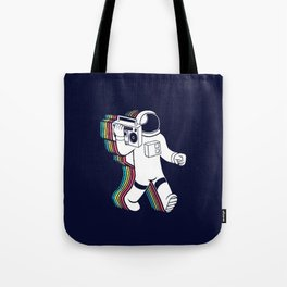 The Sound Of The Space Tote Bag
