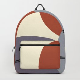 Rocks on a beach abstract  Backpack