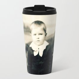 Portrait of a boy from the 1890s Travel Mug