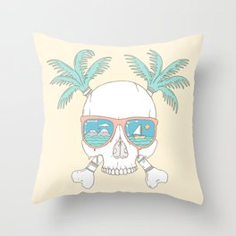 Dead of Summer Throw Pillow