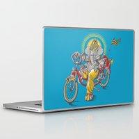 ganesh Laptop & iPad Skins featuring Ganesh by mike reisel