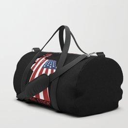 Big Stick Patriotic U.S. Aircraft Carrier Duffle Bag