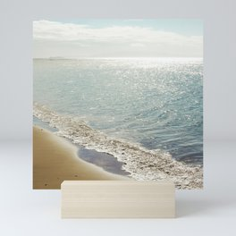 beauty and the beach Mini Art Print