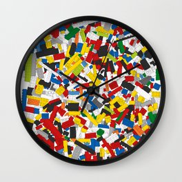 The Lego Movie Wall Clock