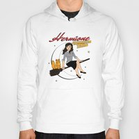 hermione Hoodies featuring Hermione the Teenage Witch by HuckBlade