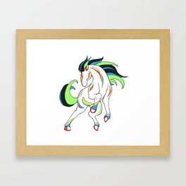 Gallant Framed Art Print