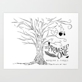 The Promised One (The Chalam Færytales, Book I) Art Print