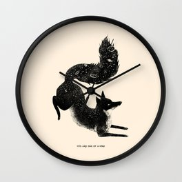 YOU ARE ONE OF A KIND Wall Clock