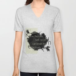 Know the rules... Unisex V-Neck