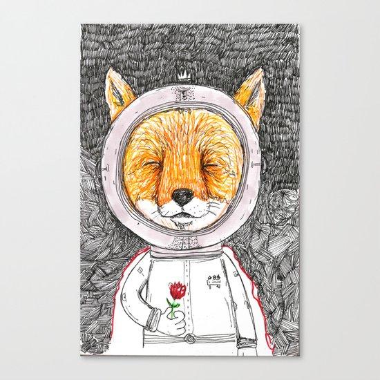 Le Petit Fox  Canvas Print