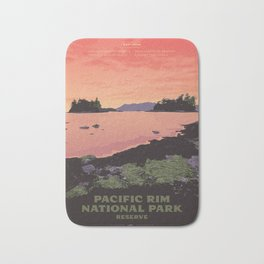 Pacific Rim National Park Reserve Bath Mat