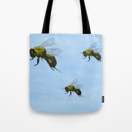 Flight of the Bumblebees Tote Bag