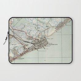 Vintage Map of Atlantic City NJ (1941) Laptop Sleeve