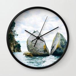 Split Rock Wall Clock