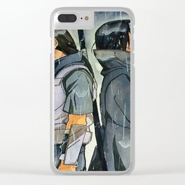itachi akatsuki Clear iPhone Case