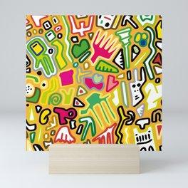 color doodle Mini Art Print