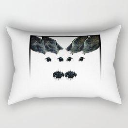 Two Deer Rectangular Pillow