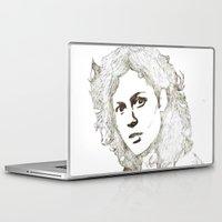 ripley Laptop & iPad Skins featuring Ellen Ripley sketch- Sigourney Weaver- Alien by Robin Stevens