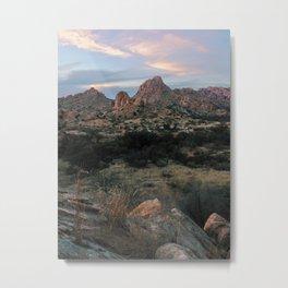 Dragoon Sunset Metal Print