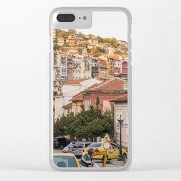 Sunset on Veliko Tarnovo Old Town Clear iPhone Case