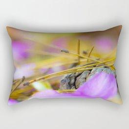 PINK AND PINE Rectangular Pillow