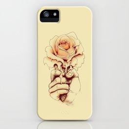 Rose a la Mode iPhone Case