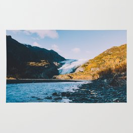 Exit Glacier - Kenai Fjords National Park Rug