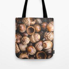 Squirrel Harvest Tote Bag