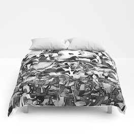 Lapwing in Disguise Comforters
