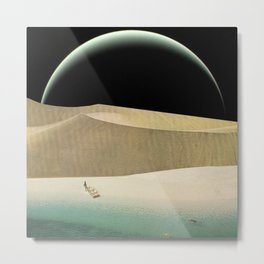 Utopian Tide Metal Print