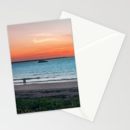 Sunset in Darwin, Australia Stationery Cards
