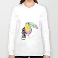 toucan Long Sleeve T-shirts featuring Toucan by caseysplace