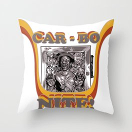 CarBoNite! Throw Pillow