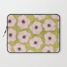 Anemone Pattern Laptop Sleeve