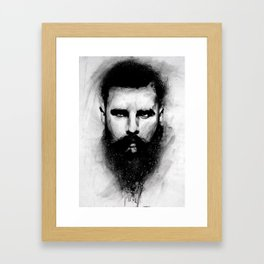 what are you looking at Framed Art Print