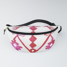 Ethnic Kilim Pattern Tree of Life Fanny Pack