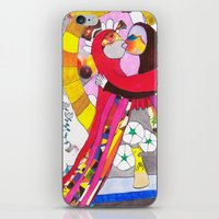 theatre iPhone & iPod Skins featuring Theatre Kiss by Hobocats