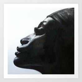 Black Woman Art Print