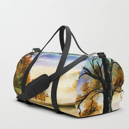 Calvin And Hobbes Look To The Something Duffle Bag