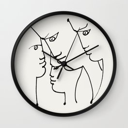 Poster-Jean Cocteau- L'Europe notre patrie (Europe our homeland). Wall Clock