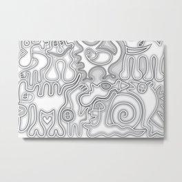 Relief of Unrest Metal Print