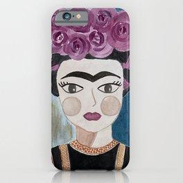 Little Frida Kahlo iPhone Case