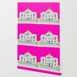 Bellas Artes architectural city ecopop Wallpaper