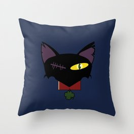 Nothing to do with luck Throw Pillow
