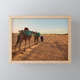 horse by Fabien Bazanegue Framed Mini Art Print