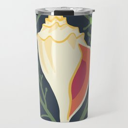 Knobbed Whelk + Seaweed Travel Mug